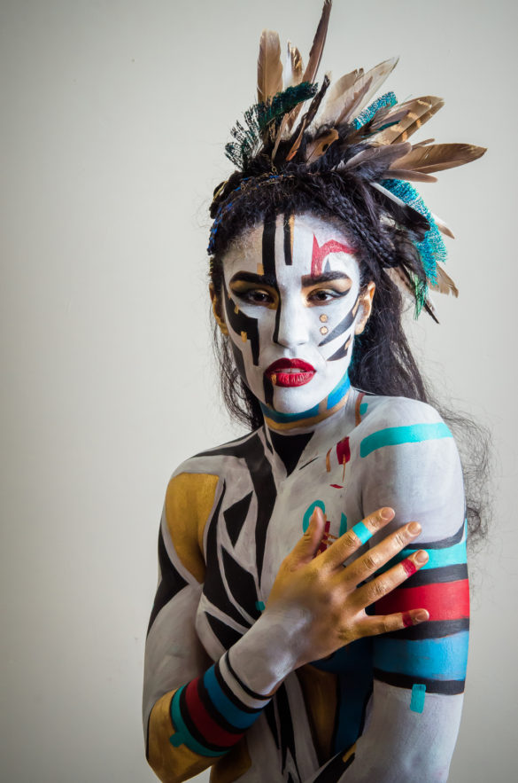Tribal Body Paint | Marcus Taylor Photography